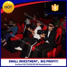 2017 new business 5d 6d 7d cinema theater with 100 english movies