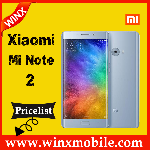 Xiaomi MI Note 2 3D Curved FHD screen Mobile phone 4GB RAM 64GB ROM Bright Black