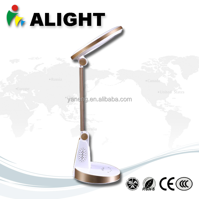 Brightness Rechargeable Desk Lamp9w led table Lamp High Quality with USB Touch Sensitive Switch Energy Saving Light