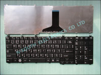 Original for toshiba l650 c650 l655 c655 Thai Laptop keyboard