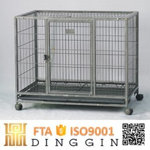 Stable square tube dog kennel