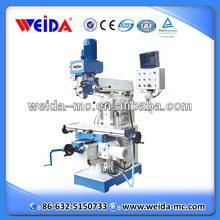 chinese universal vertical horizontal milling and drilling machine XZ6350ZA with tapping function