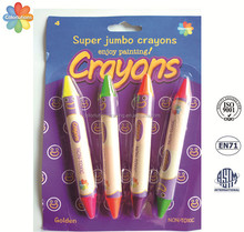 Multi-color kids wax crayon