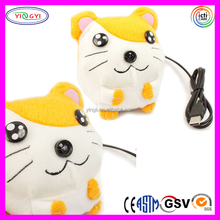 A010 Cuddly Animal Cartoon Stuffed Soft Plush Toy Webcam on Nose