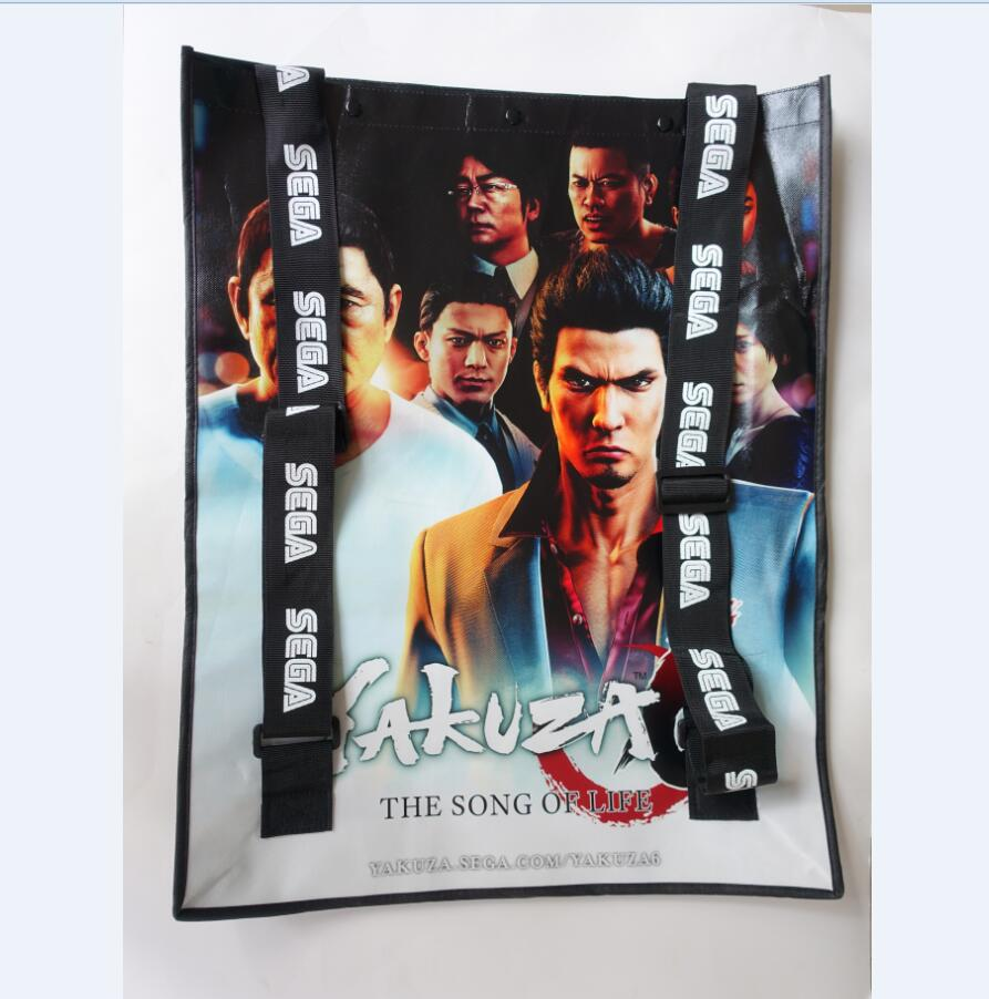 Custom Non Woven Printing Hot Games Promotional Tote large shopping Bags