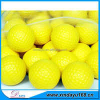 New OEM PU Foam Stress Ball Colorful PU Foam Golf Ball