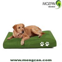 Outdoor waterproof fabric bean bag dog bed for large dogs