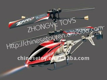 Indoor 10cm 3 CH micro metal rc helicopter ROHS/ASTM/CE certificate ZY104668