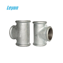 din10242 galvanized cast pipe fittings manufacturer beaded bsp malleable iron pipe fittings
