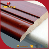 Paulownia wood moulding / finger joint frame / skirting base board
