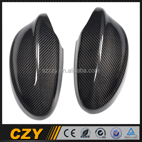 Auto Carbon Side View Mirror Cover for BMW E90 3 Series 05-08