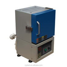 1200C mini digital intelligent preheating sintering electric muffle furnace with low price for heat treatment