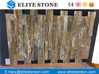 Hot sale exterior Wall Natural Slate Stone Cladding Rusty Slate tile