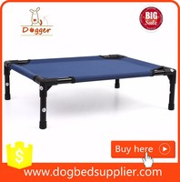 outdoor dog bed for large dogs/raised dog bed kennel/pet bed metal