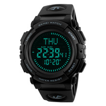 best selling products SKMEI 1290 men sport watch digital outdooring watches with compass
