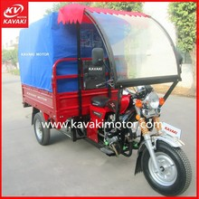 150cc India Passenger Tricycle / Three Wheel Motorcycle / Closed Cabin Tricycle Passenger