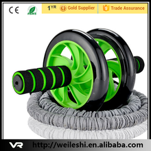 Fitness and exercise highly durable Ab wheel roller/fitness equipment made in China.