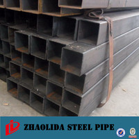 structure pipe ! shs / rhs steel square pipe for building material welded iron tube with square hollow section