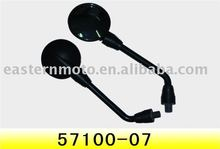 motorcycle rear mirrors with high quality/south america motorcycle mirror/