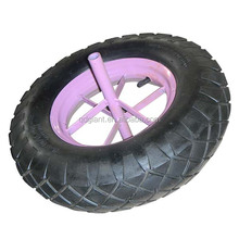 16x4.00-8 pneumatic rubber wheels for trolley