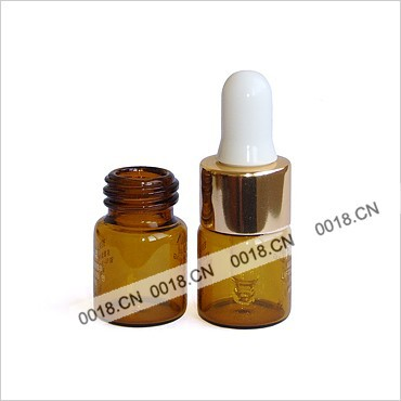 5ml tube dropper glass bottle
