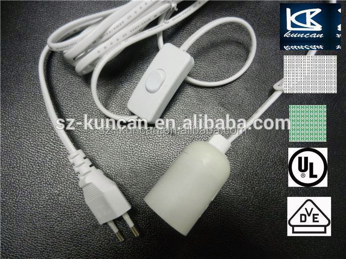 OEM Australian Retractable Electric Power Cord salt lamp power cord