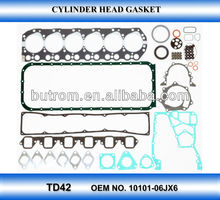 complete repair gasket kit for TD42 engine parts