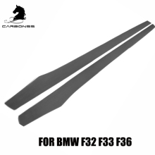 CARBON FIBER BUMPER SIDE SKIRTS FOR BMW 4 SERIES F32 F33 F36 2014+