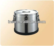 Stainless Steel Heat Preservation Transportable Dinner Barrel Or Bucket