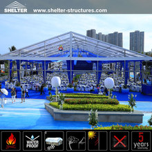 Guangzhou manufacture supply 2012 wedding tent