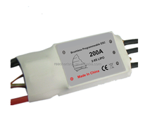With program box RC marine brushless ESC 8S 200A