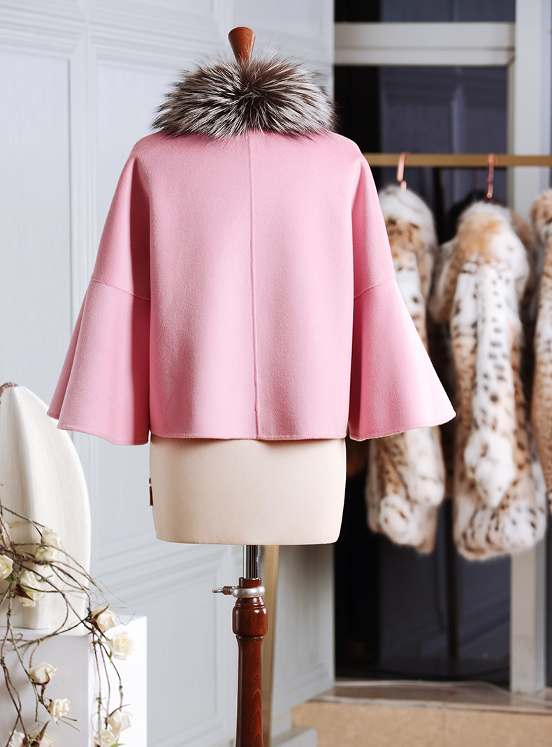 Women High Quality 100% Wool Cashmere Coat