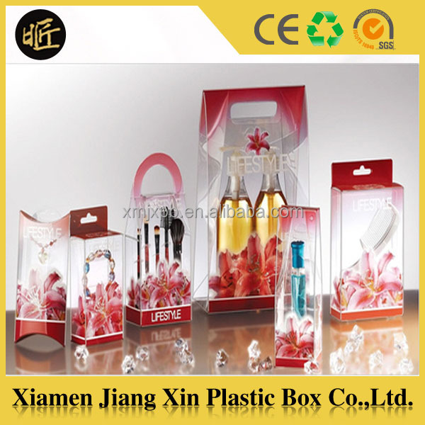 Good quality custom eco-friendly clear pet pillow boxes