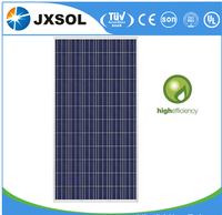 China supplier manufacturering good price per watt home system poly solar panel 310w