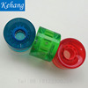 Kehang Popular Long board Skate board parts accessories 60x45 MM LED flashing PU wheels