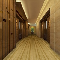 Bamboo Nonflammable Hotel Wall To Wall Carpet
