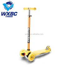 China manufacturer hot sale cheap price 3 wheel kids kick scooters for age+4