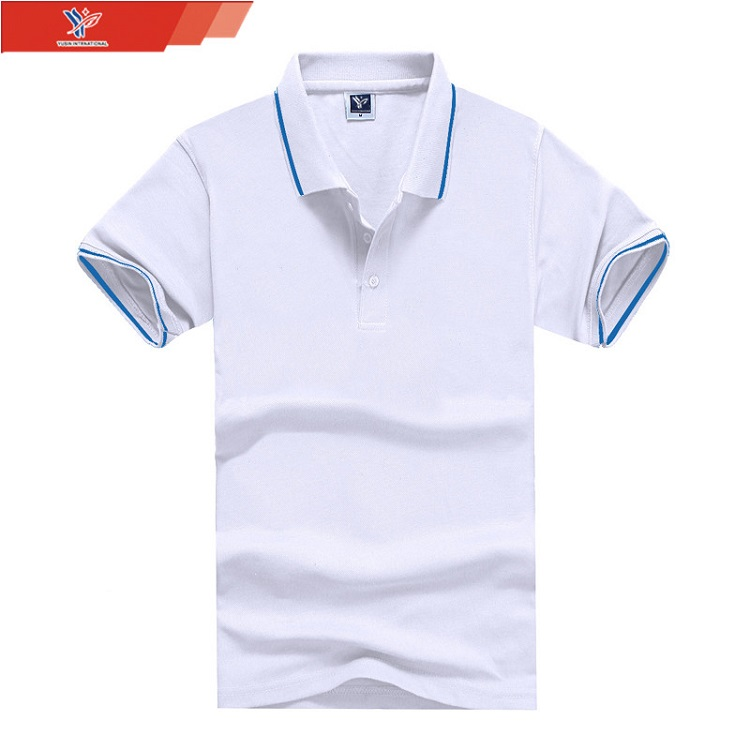bulk buy clothing online shopping lycra cotton fabric cotton polo shirt