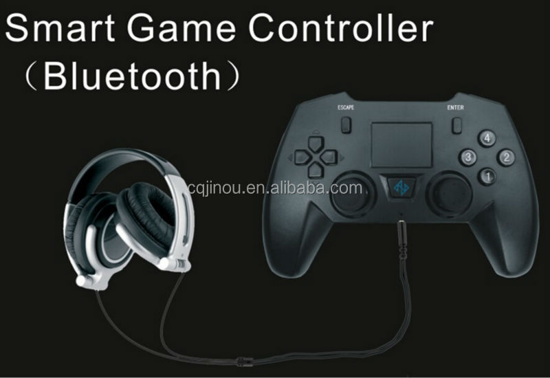 Bluetooth Wireless Remote Game Controller/Joystick/Gamepad with Touchpad/Video Game