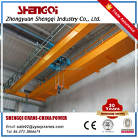 Wildly Used Electric Overhead Travelling Double Girder Bridge Crane Lifting Machine With Electric Hoist