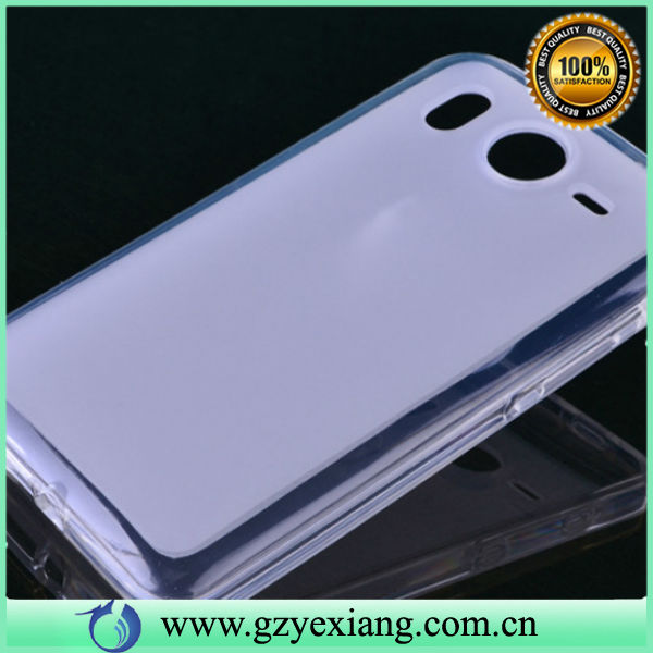 new crystal clear hard back case for sony xperia c