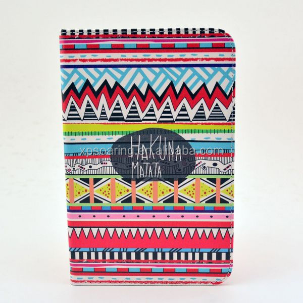 P3100 tribal leather case for Samsung Galaxy Tab 2 7""