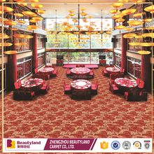 Wedding hall, banquet, event use flooring pp red carpet manufacture