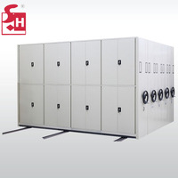 Luoyang hospital archives metal compact mobile shelving