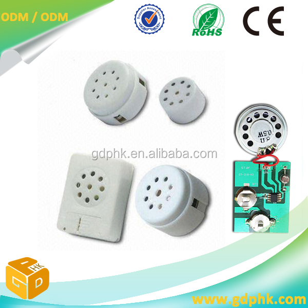 small speakers sound chip for toys programmable musical sound chips for greeting card