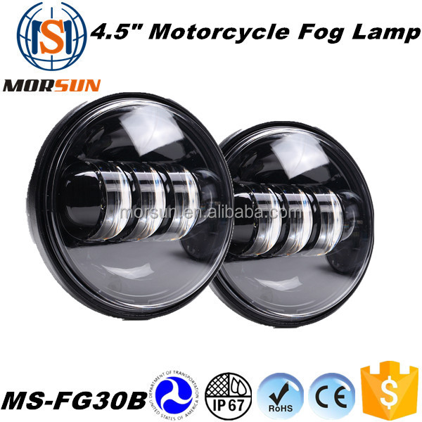 4.5'' motorcycel fog light30w led fog light motorcycle led fog light