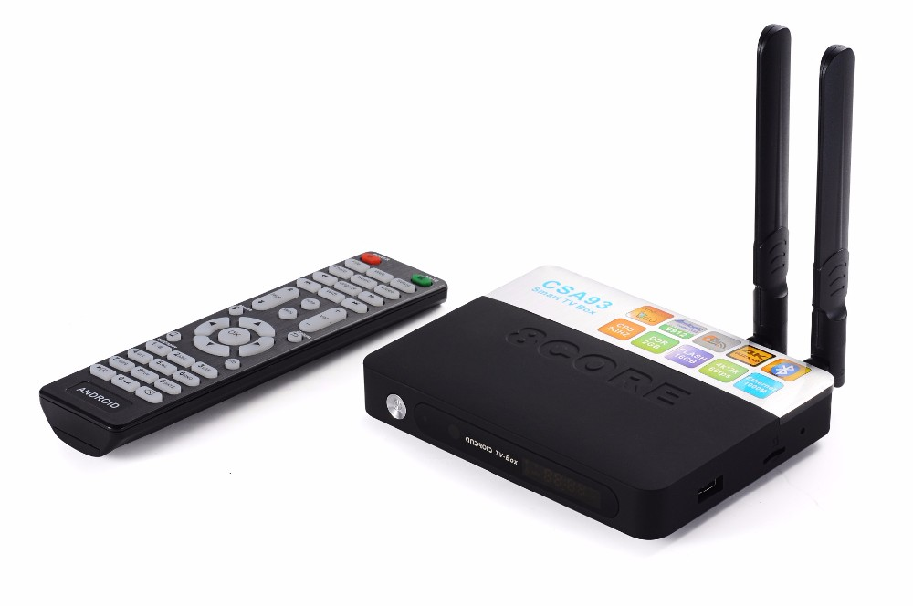 2016 CSA93 Amlogic S912 2G/16G Octa core Android 6.0 Marshmallow Smart TV Box CSA93