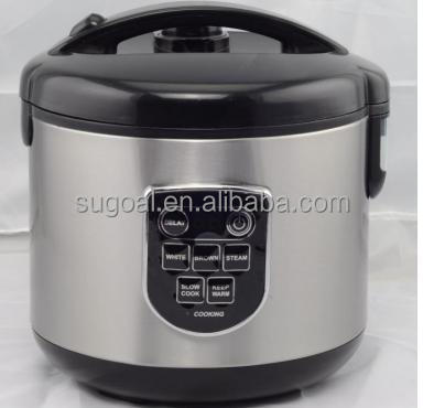 SuGoal New Household 1.0L Mini Smart Rice Cooker with Multi Function