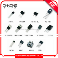 Cheap price 13007 transistor custom transistor e13007-2 with different package