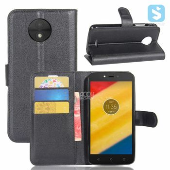 Hot Selling Flip Magnet PU Leather Wallet Case for Alcatel A30